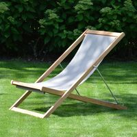 Jan Kurtz - Nizza, Deckchair, FSC-Teak